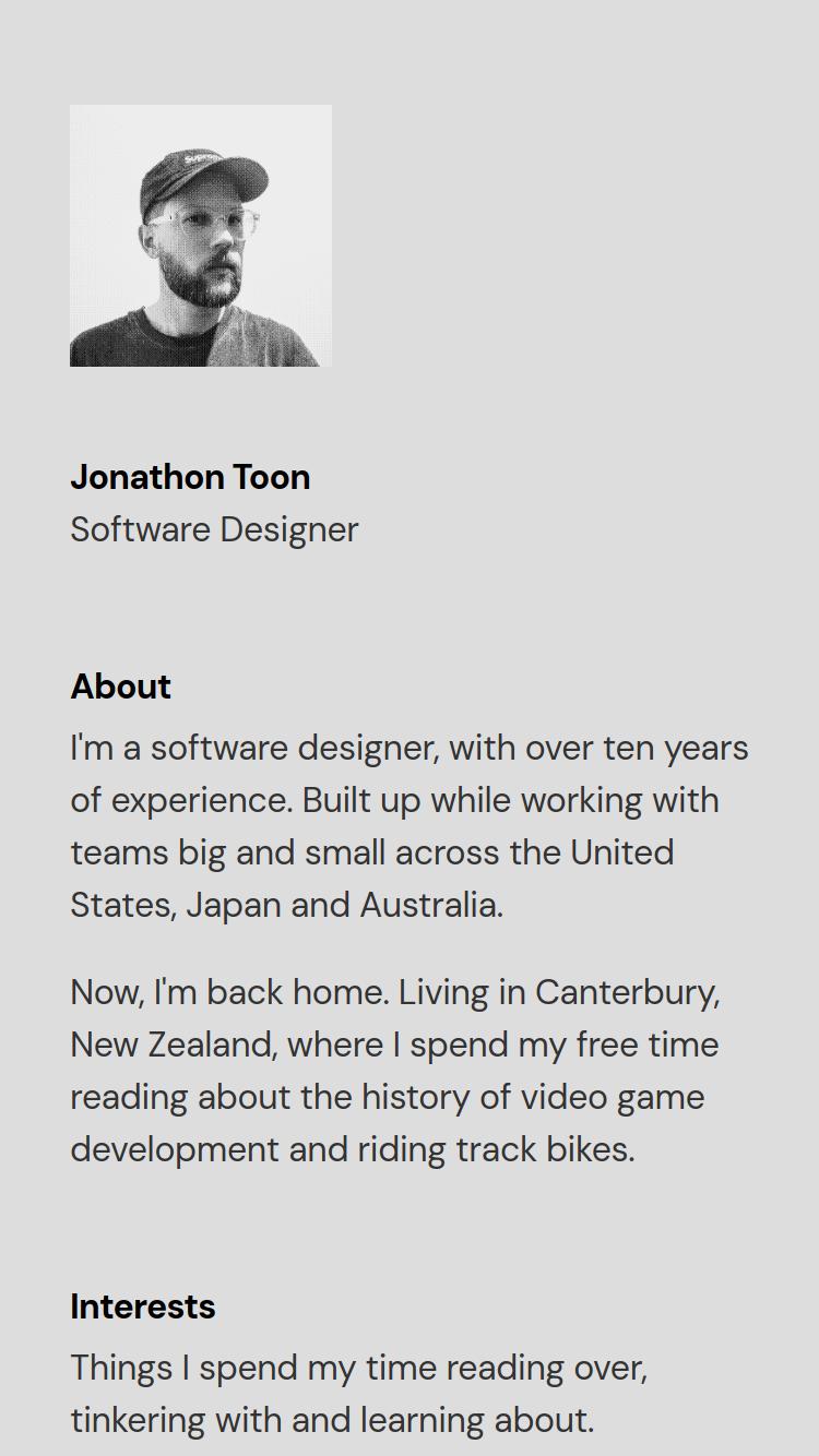 Jonathon Toon website