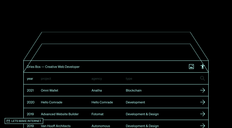 Dries Bos website